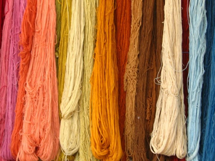 Where do textile fibers come from?